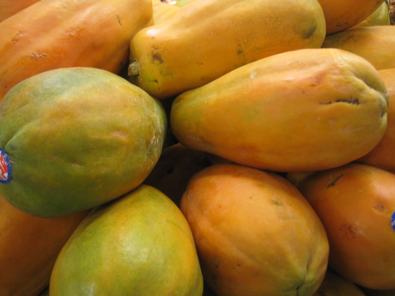 papaya fructe