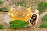 ceai de frunze de nuc