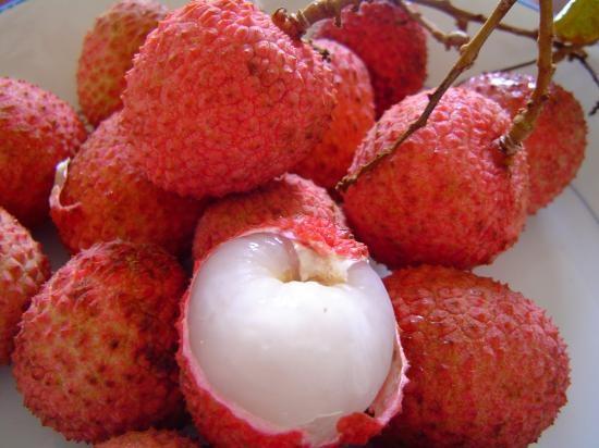 fructe de litchi