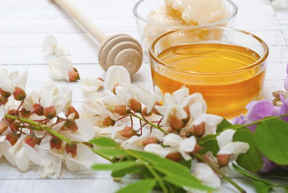 ceai de flori de salcam