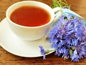 ceai de albastrele