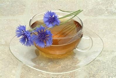 infuzi de flori de albastrele