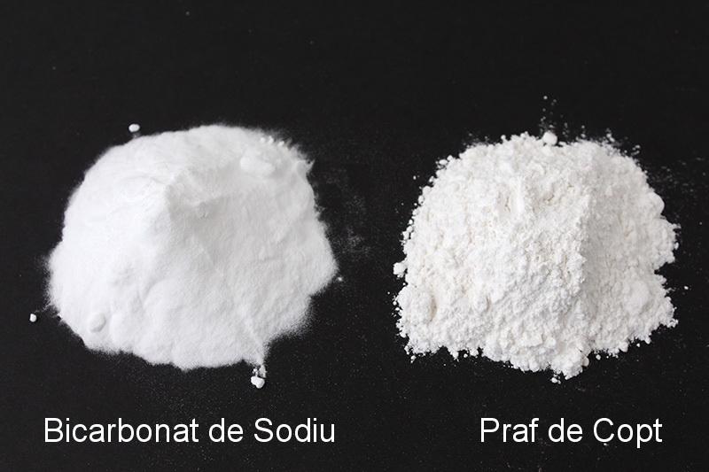 praf de copt si bicarbonat de sodiu