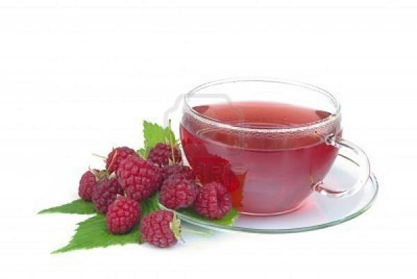 ceai de frunze de zmeur